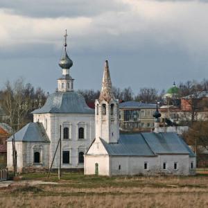 Богоявленская церковь и Церковь Рождества Иоанна Предтечи Суздаль