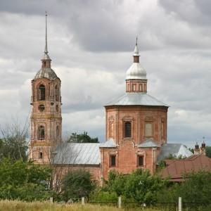 Борисоглебская церковь Суздаль